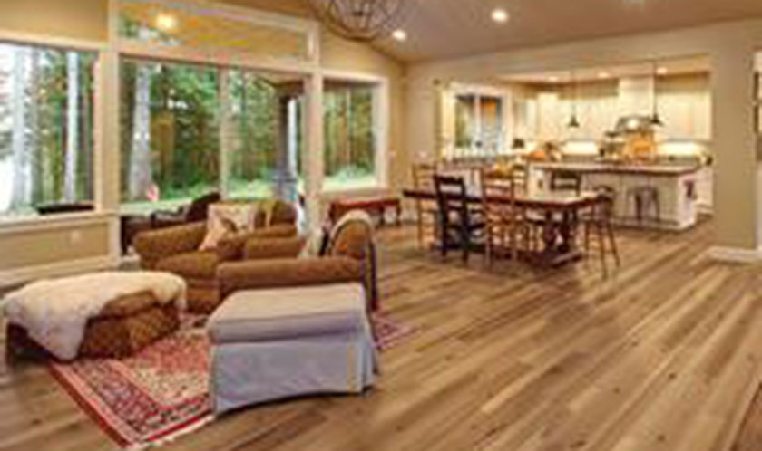 Hardwood: Looks great, rugged and brings value to your home